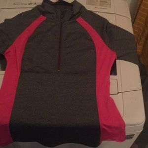 Jackets & Blazers - Grey & pink Fitness sweater